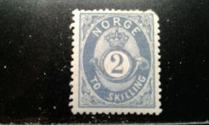 Norway #17 mint hinged e194.4197