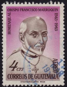 Guatemala - 1965 - Scott #C316 - usedr - Bishop Marroquin