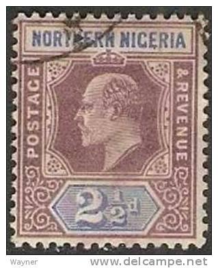 Northern Nigeria 1902 Scott 13 wmk crown and CA used