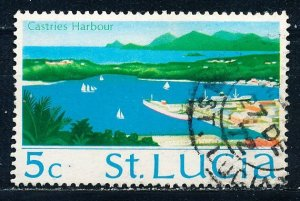 Saint Lucia #264 Single Used