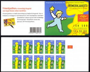 Iceland Sc# 910a MNH Complete Booklet 2000 Europa