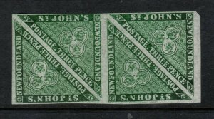 Newfoundland #11a Mint Fine - Very Fine Never Hinged Block **With Certificate**
