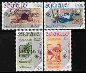 Seychelles 1980 London 1980 Stamp Exhibition - Currency N...