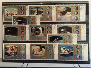 Fujeira Space Apollo  stamps  R24491