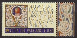 2004 - VATICAN - Scott #1290 - Petrarch - MNH VF **