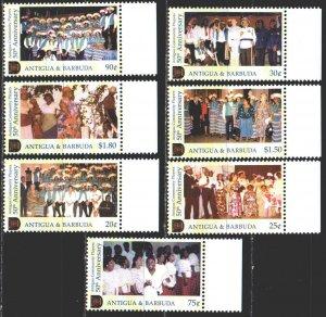 Antigua and Barbuda. 2002. 3713-19. Amateur theater. MNH.