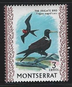 Montserrat  mint hinged SC  233