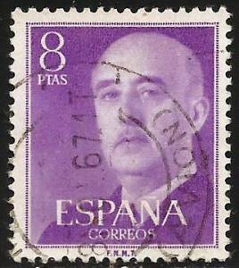 Spain 1955 Scott# 834 Used