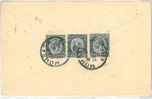 POSTAL HISTORY : cover KENYA & UGANDA - to USA 1934