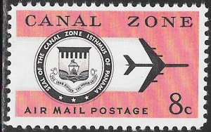 Canal Zone C43 MNH - Seal and Jet Plane