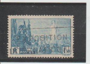 France  Scott#  321  Used  (1936 Peace)