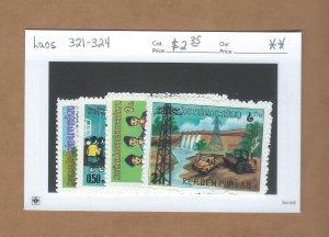 Laos  321-324  MNH