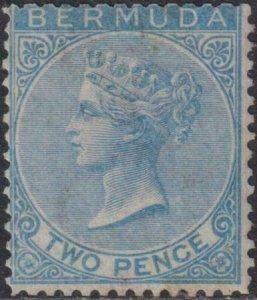 Bermuda 1865-1874 SC 2 MLH