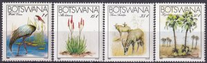 Botswana #329-32 MNH CV $16.00 (Z3187)