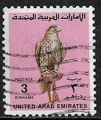 United Arab Emirates #309 Used Stamp - Falcon
