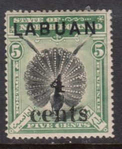 Labuan #87 Mint