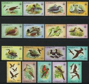 Kiribati Scott 384-399 (no 396A) Mint Never Hinged