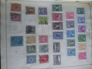 187 Austria stamps 1800s 1900s Collection.