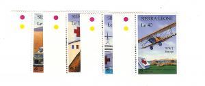 Sierra Leone, 1005-08, Red Cross Singles, MNH