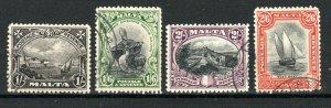 Malta 1930 values to 2s 6d FU CDS