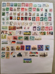 German 100+ stamps - Lot Y