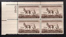 SCOTT # 1078 PLATE BLOCK MINT NEVER HINGED GREAT LOOKING GEM  !