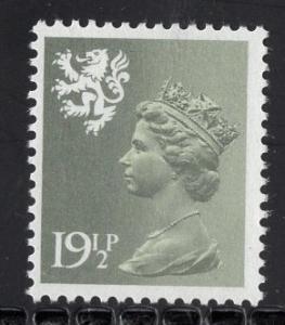Great Britain Scotland  #SMH38  MNH  Q E II  19 1/2p   Machin