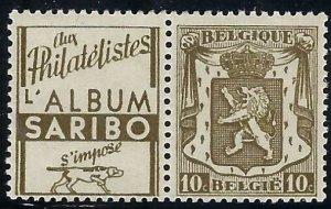 RK100 Belgium with ad label BIN $3.00