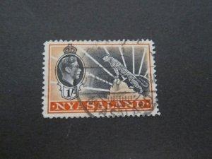 Nyasaland 1938 Sc 62 FU