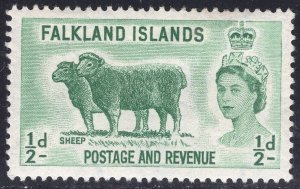 FALKLAND ISLANDS SCOTT 122