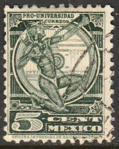 MEXICO 698, 5cents, UNIVERSITY ISSUE. USED. VF. (505)