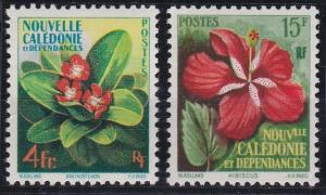 New Caledonia 304-305 MNH (1958)