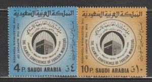 Saudi Arabia SC  614-15 Mint  Never Hinged