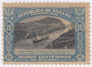 Panama, Sc 215, MLH, 1915, Opening of Canal