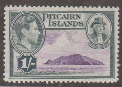 Pitcairn Islands Scott #7 Stamp - Mint Single