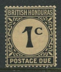 British Honduras.- Scott J1 - Postage Due -1923-64 - MVLH -Single 1c Stamp