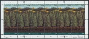 United Nations - Geneva 166a Sheet MNH Trees, Forest