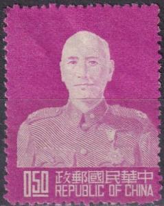 China #1080 F-VF Unused  CV $8.00 (A19104)