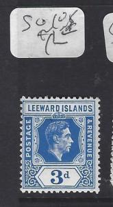 LEEWARD ISLANDS (P1710B) KGVI   3D  SG 108   MNH