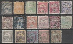 Hungary Used lot Turel & Crown