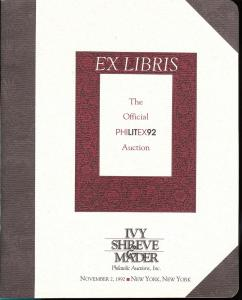 Ivy, Shreve & Mader: Sale #   -  The PhiLITex92 Auction, ...