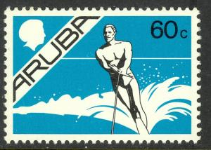 ARUBA 1986-87 60c WATER SKIER Pictorial Issue Sc 9 MNH