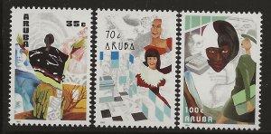ARUBA  SC #   67 - 9   MNH