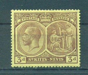 St. Kitts & Nevis sc# 46 (2) mlh cat value $2.40