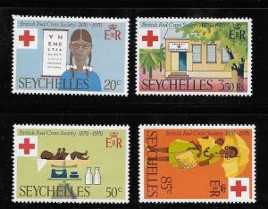 Seychelles 1970 Centenary of British Red Cross Society MNH A182