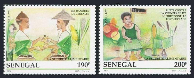Senegal MNH 1273-4 Food Day SCV 1.65