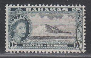 Bahamas,  10sh Salt Production  (SC# 172) Used