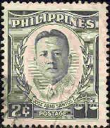 Jose Abad Santos, Chief Justice, Philippines SC#590 used