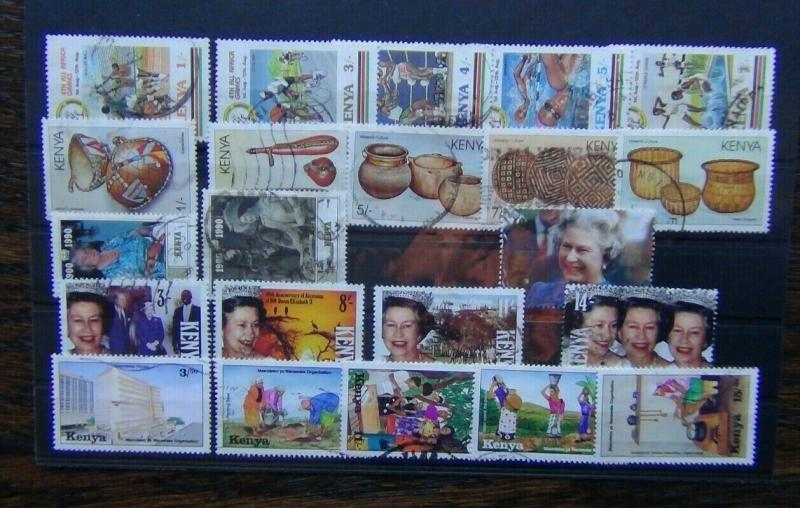 Kenya 1987 1994 Culture Queen Mother Accession Wanawake Africa Games etc Used