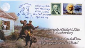 2015, Paul Revere's Ride, 240th Annie, New Castle DE, 15-094